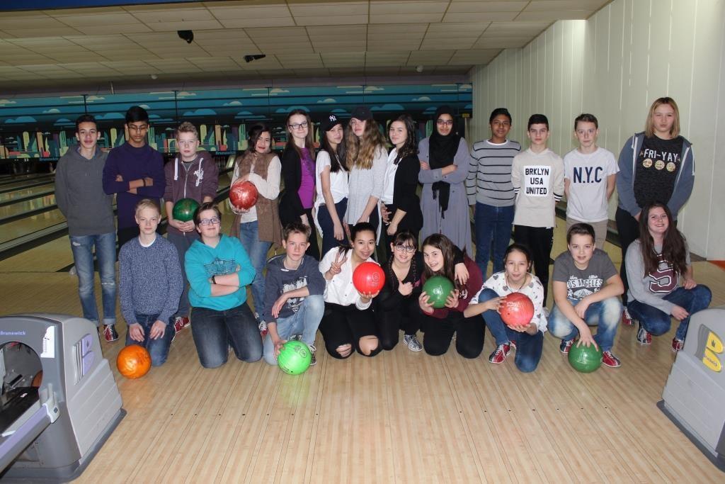 Bowling am 1. März 2016